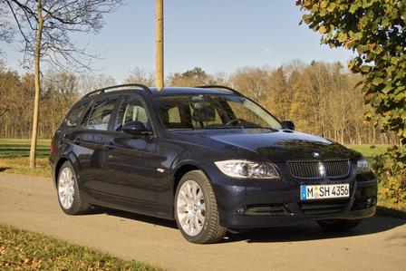 BMW 320d Touring: 11 фото