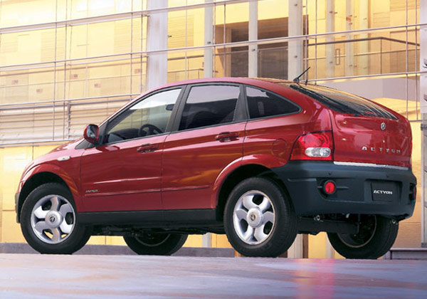 SsangYong Actyon: 10 фото